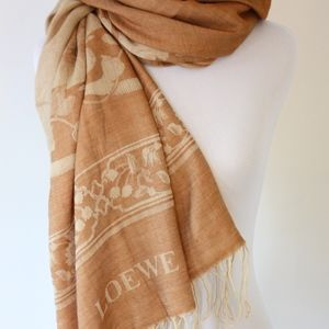 Loewe Accessories - Loewe Large Silk Cashmere and Wool Scarf